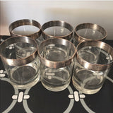 Dorothy Draper Lowball Cocktail Glasses - Set of 6
