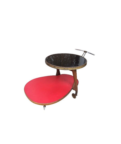 Wilhelm Renz Biomorphic 1930's Bar Cart