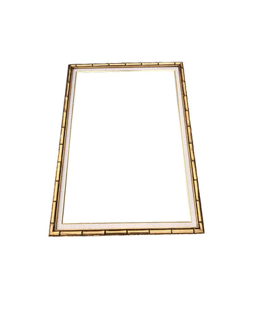 Vintage Bamboo Picture Frame