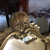 Shell and Acanthus Detail Wall Mirrors- a Pair