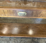 Bamboo console table. Reserved.