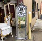Silver Enchanted Relief Mirror
