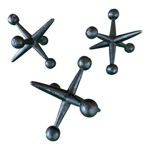 Large Decorative Jacks - Set of 3 - FREE SHIPPING!