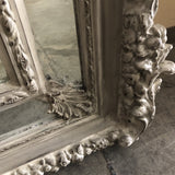 Large French Farmhouse Style Chalk Grey Mirror FREE SHIPPING!