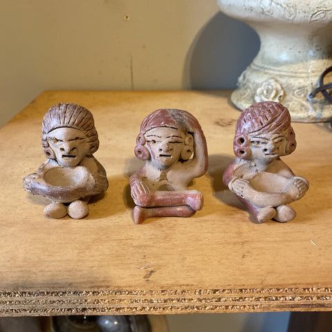 Mexican Pottery Trio** - FREE SHIPPING!