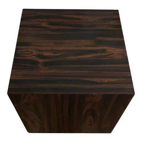 Mid-Century Cube Side Table