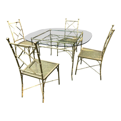 Gentil Phyllis Morris Bamboo Patio Table U0026 Chairs