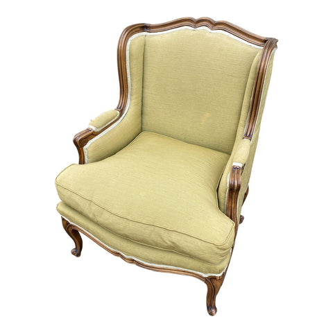Queen Anne Wing Back Chair - FREE SHIPPING!