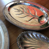 Silver Plated Shell Serving Dishes - Set of 7 - FREE SHIPPING!