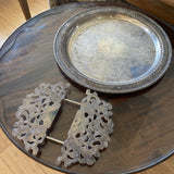 Silver Plated Trivet & Tray Set - 2 Pieces - FREE SHIPPING!