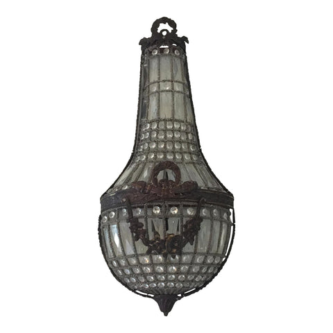 Swedish Style Garland Swag Sconce** - FREE SHIPPING!