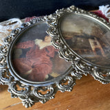 Vintage Filigree Frames with Glass - Set of 7 - FREE SHIPPING!