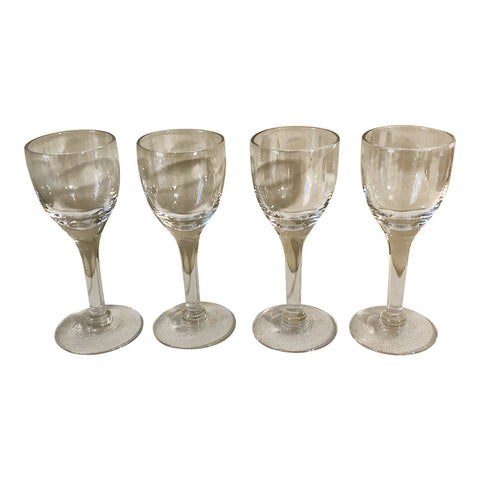 Vintage Traditional Glass Cordials - Set of 4 - FREE SHIPPING!