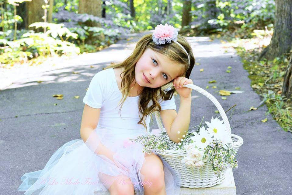 The Eliana Headband with Matching Tutu