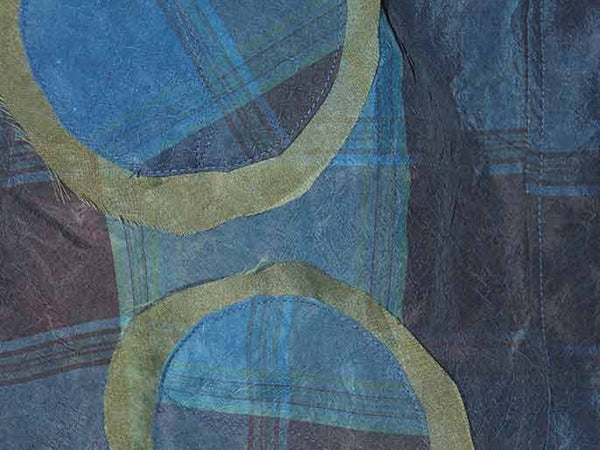 Silk Taffeta - Dying with Indigo