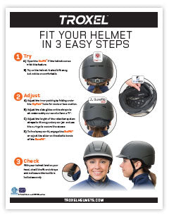 Troxel Helmets Fit Guide