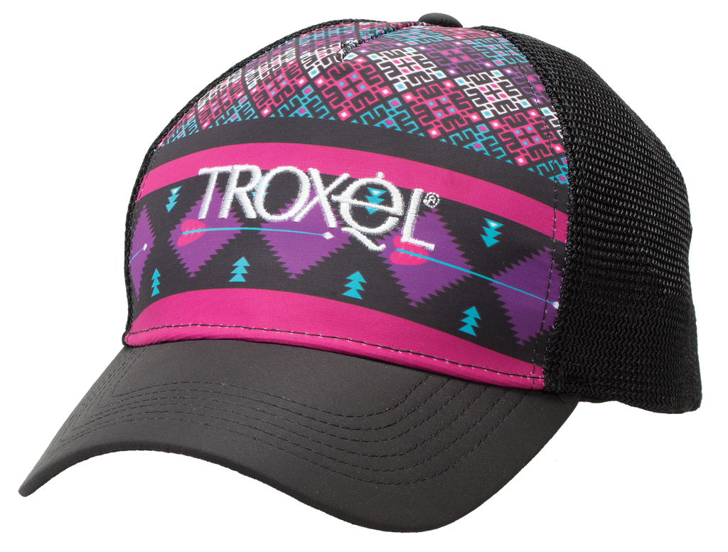 Troxel Purple Geo Ball Cap
