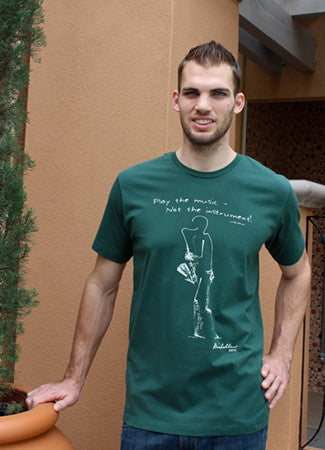 Men's Slim Fit/Unisex Sax-Forest Green