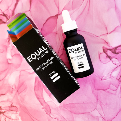 equal by nature sweet plum oil
