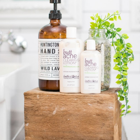 Lab&co, Skin routine, Skin care, Butt acne