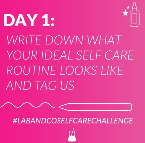 Skin Care Challenge, Stay Home, Lab & Co