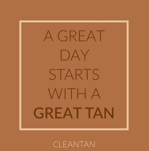 Cleantan, Glow, Tea Tan