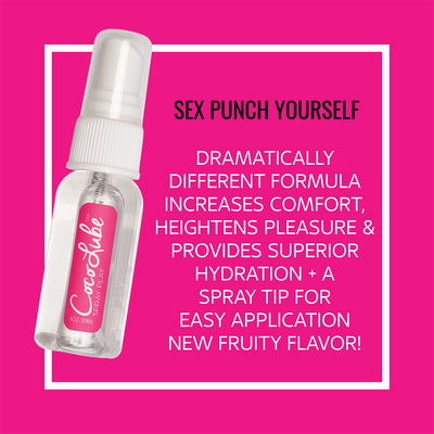 CocoLube Personal Lubricant CocoLube | Spray Play, Personal Lubricant 1oz - Sex Punch