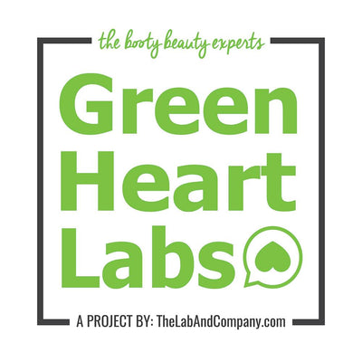 Green Heart Labs Skin Care Booty Detox Scrub