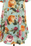 Floral Print Swing Dress - Sunni Rae's