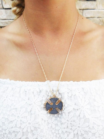 Druzy Luxe Necklace