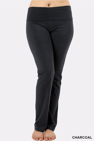 Fold Over Waist Yoga Pants