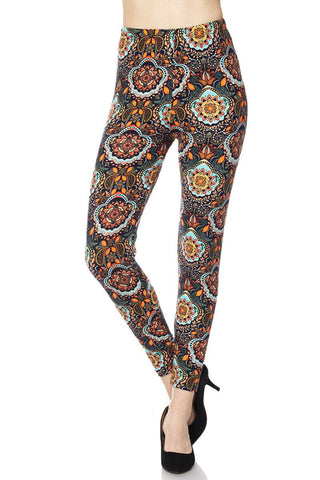 Bold Multi Print Buttery Soft Leggings