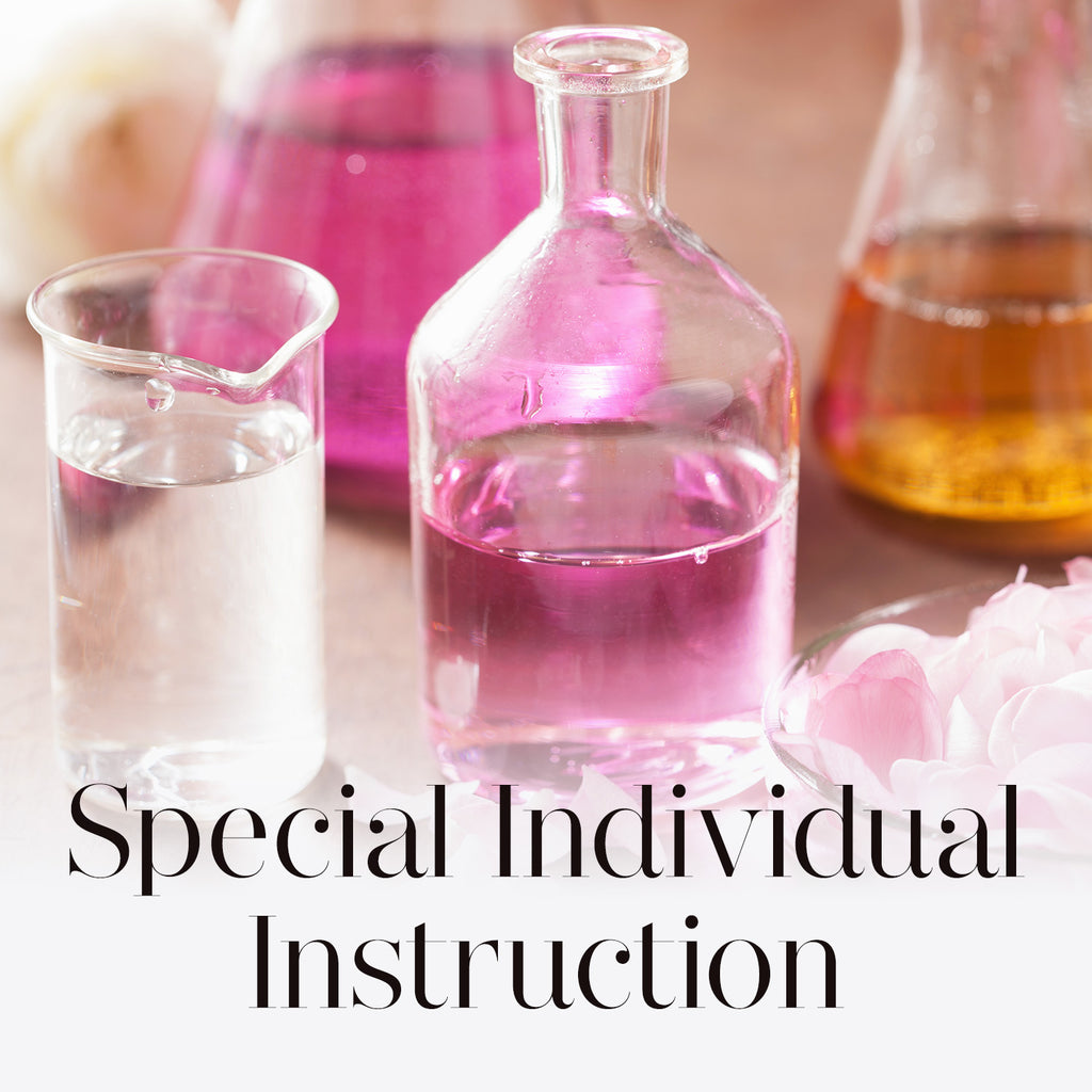 Special Individual Instruction Pre-arranged Special Topics