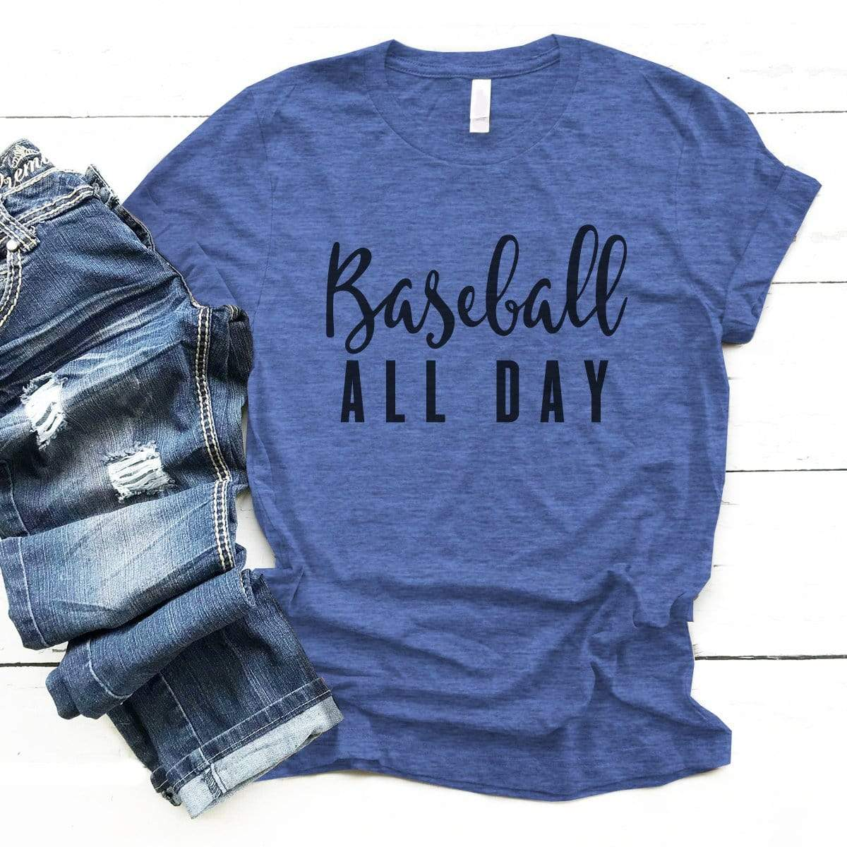 Baseball All Day Premium Unisex T-Shirt