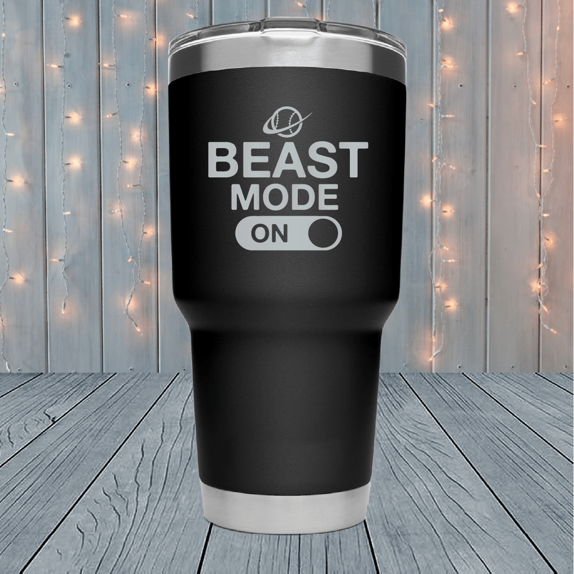 Beast Mode On Laser Engraved Tumblers