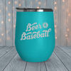 Beer And Baseball Laser Engraved Tumblers