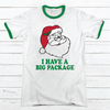 Big Package Premium Christmas Ringer Tee