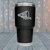 Cheer Mom Laser Engraved Tumblers