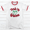 GRINCHES DRINK UP Premium Christmas Ringer Tee