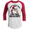 FIRST THINGS FIRST Premium Youth Christmas Raglan