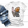 Football Love Patterns - Premium Unisex T-Shirt