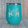 Football Mom Laser Engraved Tumblers