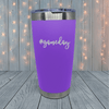 #Gameday Laser Engraved Tumblers