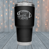Game Day Football Laser Engraved Tumblers