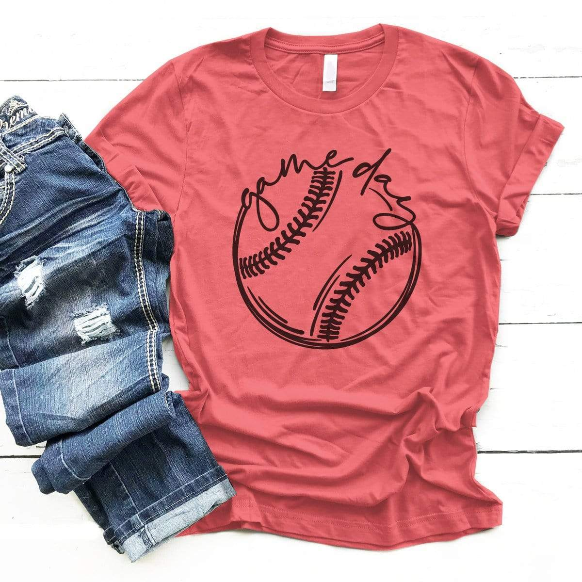 GAMEDAY Baseball/Softball - Premium Unisex T-Shirt