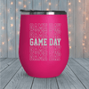 Game Day Repeating Laser Engraved Tumblers