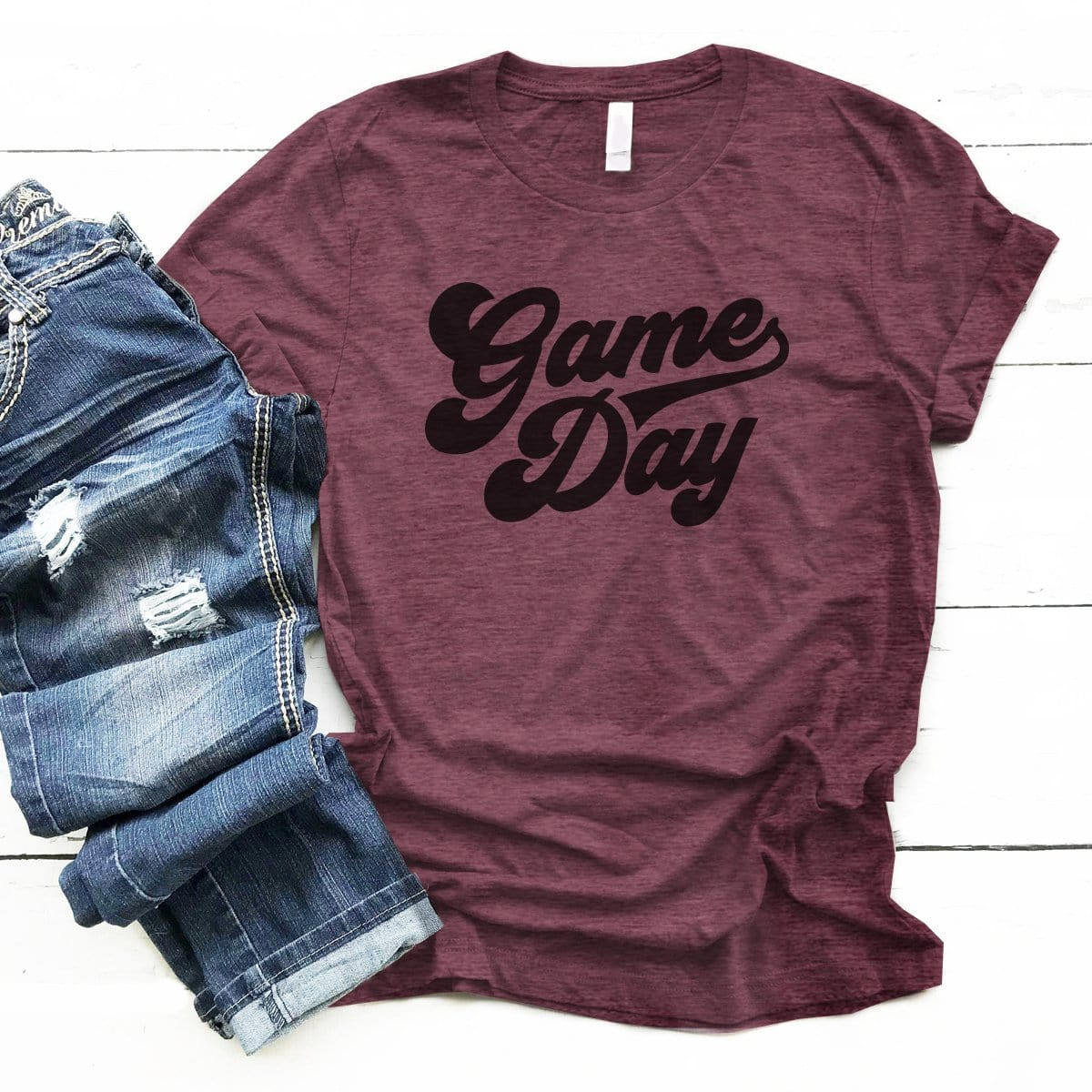 Game Day Retro - Premium Unisex T-Shirt