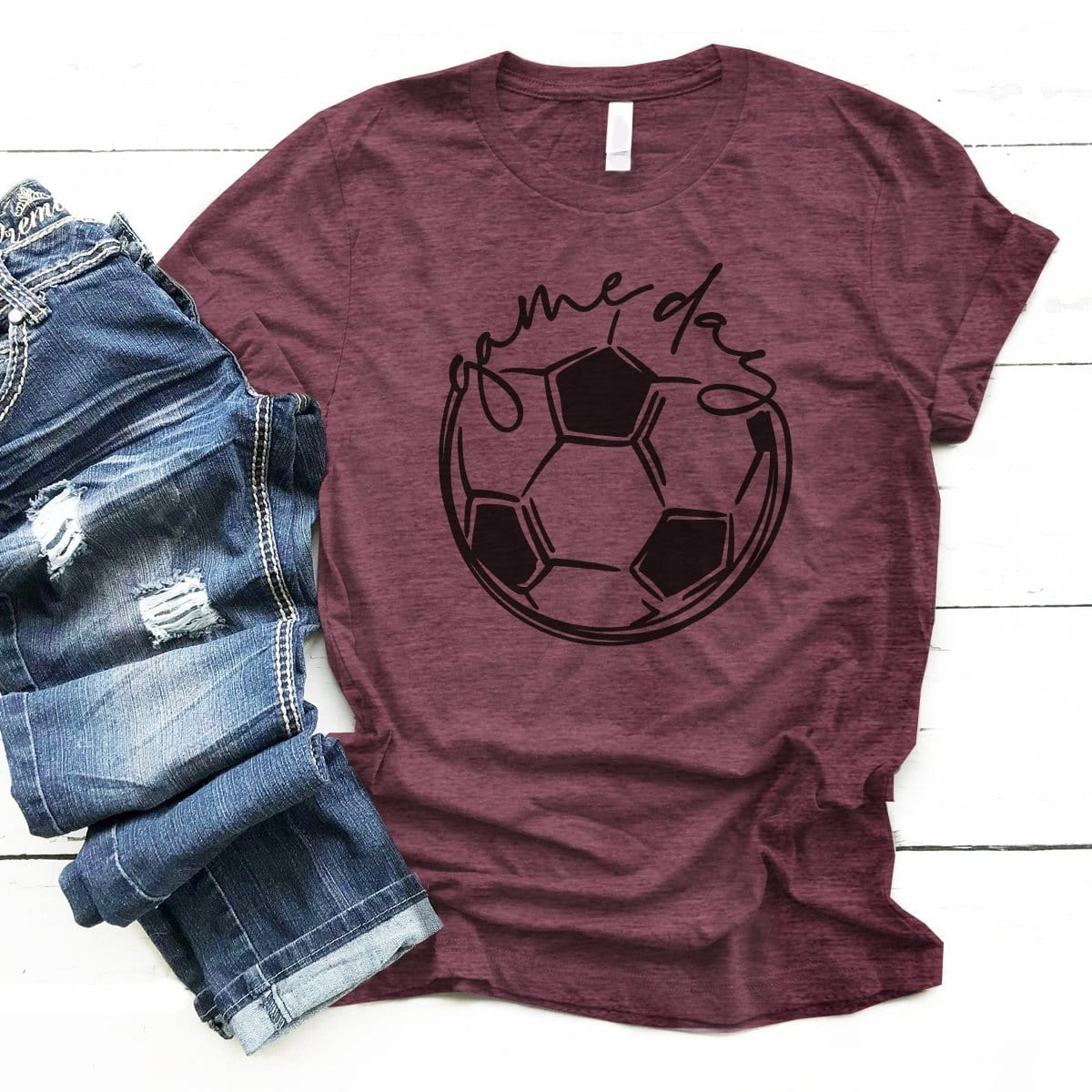 GAMEDAY Soccer - Premium Unisex T-Shirt