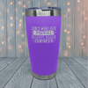 Girls Who Love Baseball Laser Engraved Tumblers