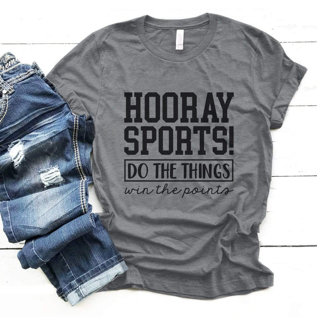 Hooray Sports - Premium Unisex T-Shirt